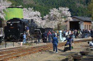 若桜鉄道SL試験運行30