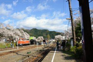 若桜鉄道SL試験運行36