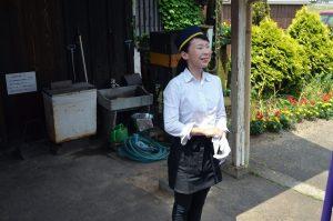 法華口北垣駅長さん