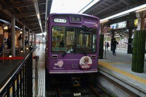 嵐電嵐山駅3