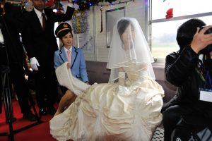 北条鉄道結婚式20a