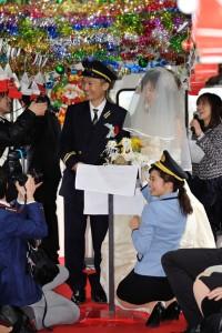 北条鉄道結婚式14a