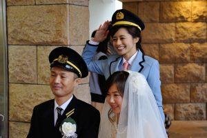 北条鉄道結婚式10a