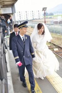 北条鉄道結婚式04a