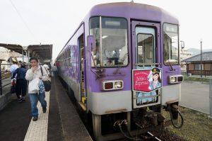 アロマ列車にて17