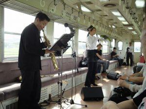 北垣さんコンサート列車02