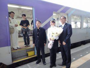 北垣さんコンサート列車07