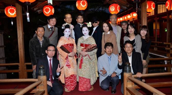 ★★京都上七軒梅乃さんお茶屋体験ツアーアンコール2016盛会で終了しました。