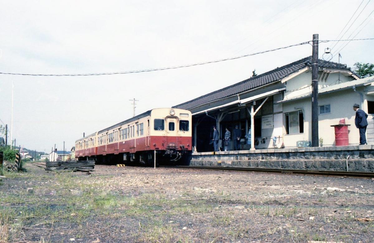 キハ35系三木線三木駅
