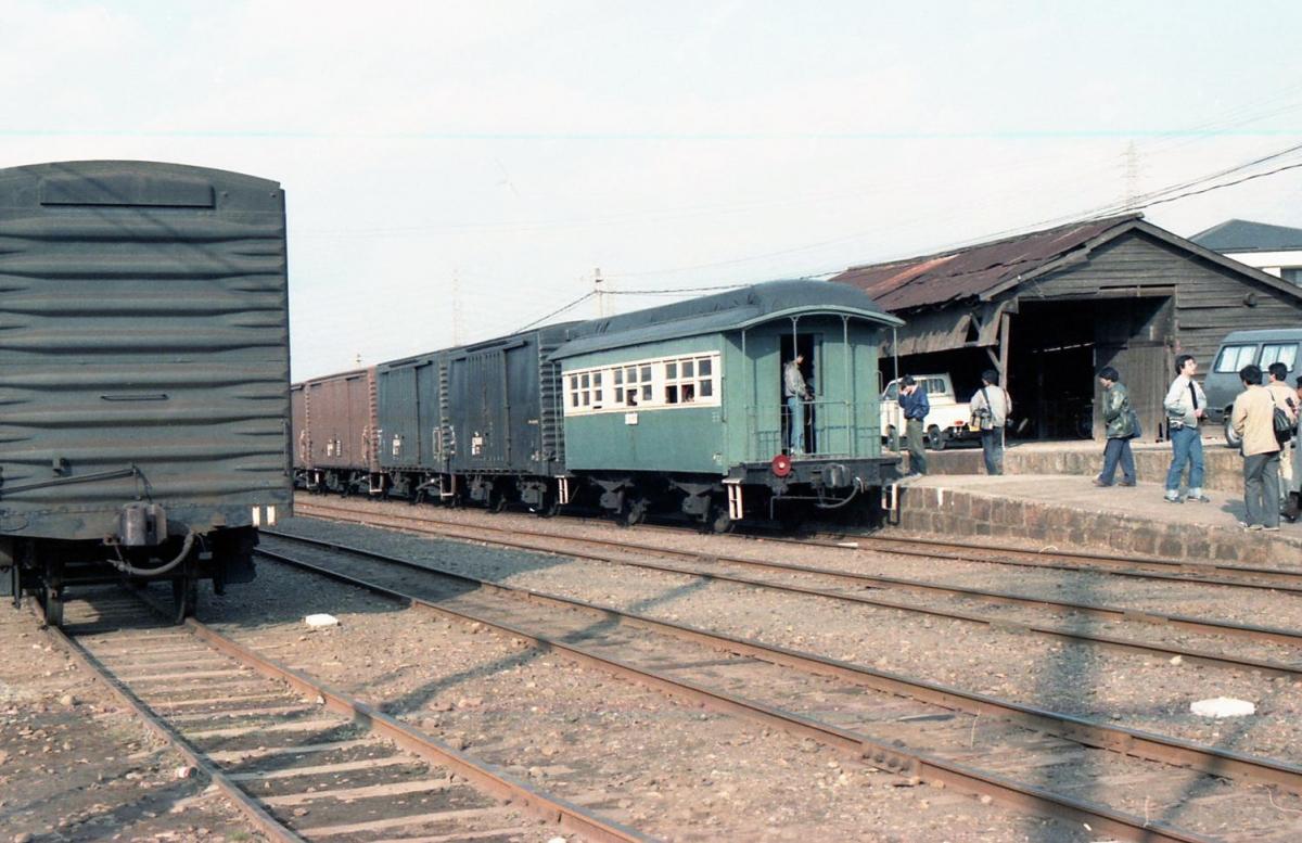 別府鉄道土山線混合列車