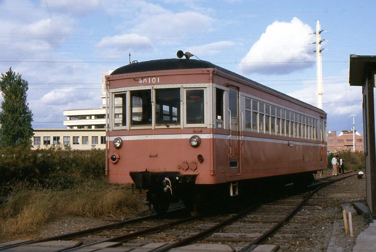 別府鉄道野口線キハ101