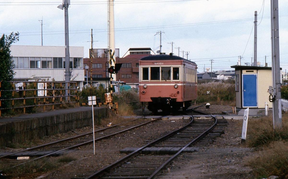 別府鉄道野口駅キハ101