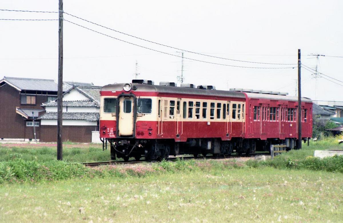 加古川線キハ20+30系2連