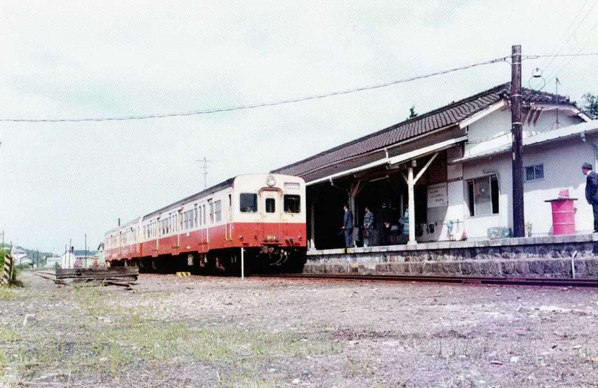 国鉄三木線三木駅キハ35系