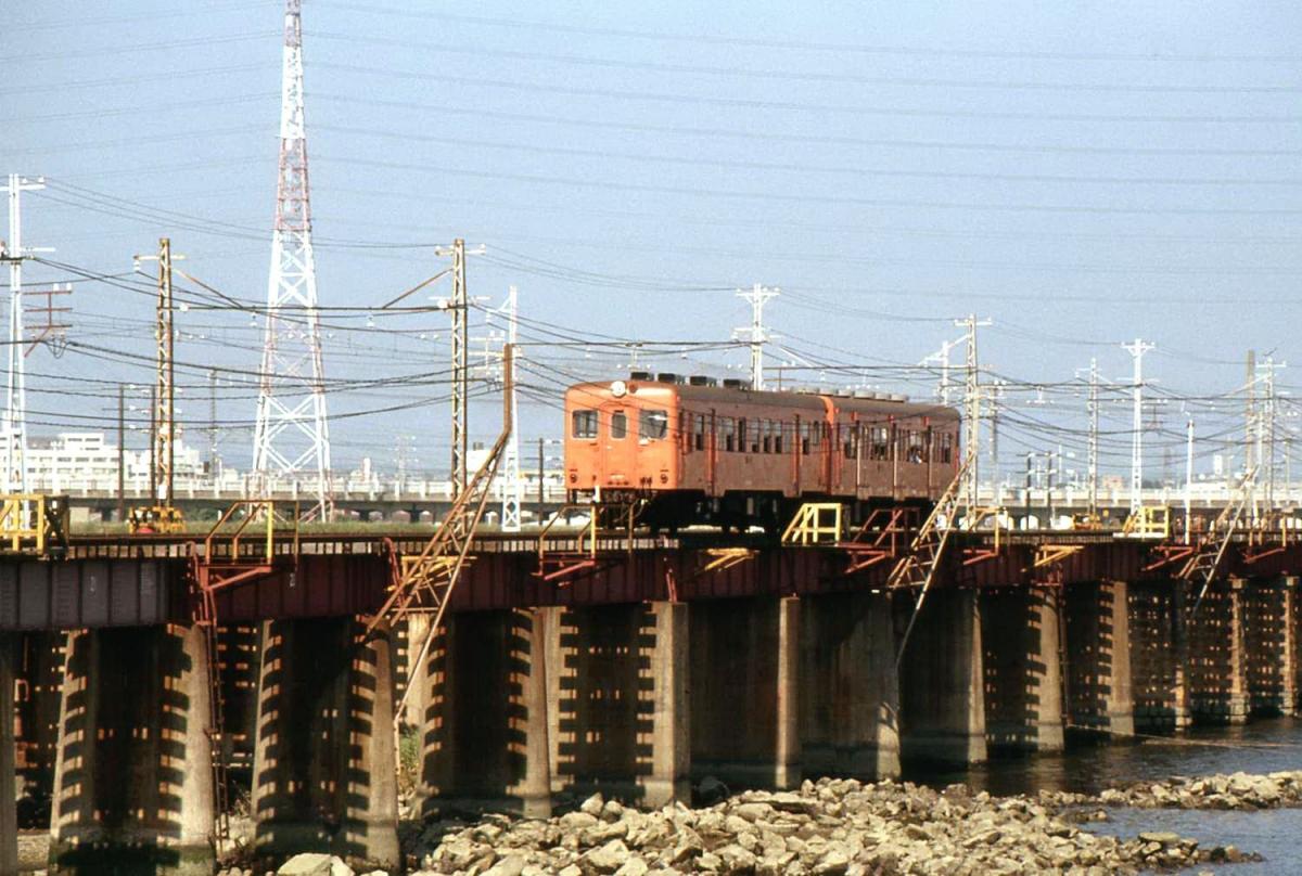 国鉄高砂線加古川橋梁キハ20+キハ30